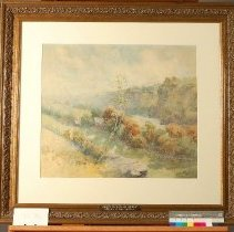 Image of Painting - Riverbank Seen from a Height